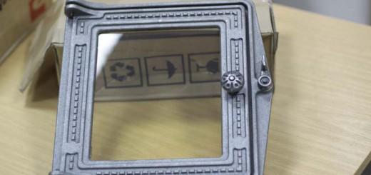 Дверца печная ДТ-4С (р) 250х280 мм