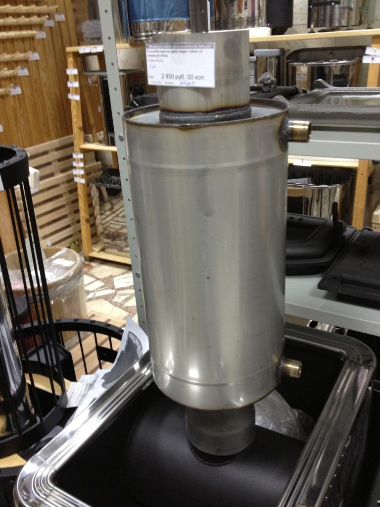 Теплообменник в бане на трубе снятие вторичного теплообменника видео