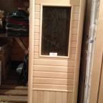 дверь для сауны из липы,двери с окном для сауны,деревянные двери для сауны,