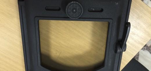 печная дверца герметичная со стеклом LK 370